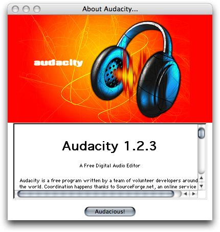 Audio city Audacity2