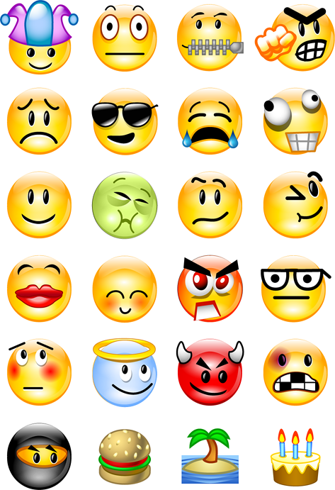 skyrock emoticons ... open their fingers as they mixed individual doses of fertility drugs.