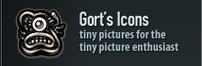 gort's icons - tiny pictures for the tiny picture enthusiast