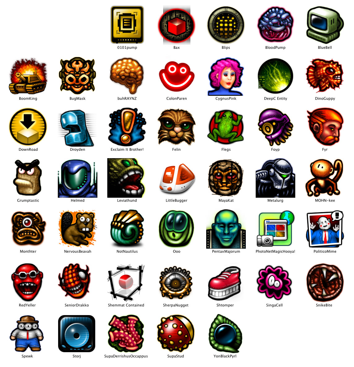 http://www.forrestwalter.com/icons/graphics/volume5.jpg